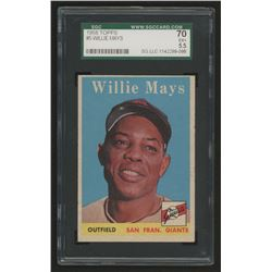 1958 Topps #5 Willie Mays (SGC 5.5)