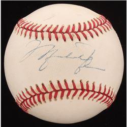 Michael Jordan Signed OAL Baseball (JSA ALOA)