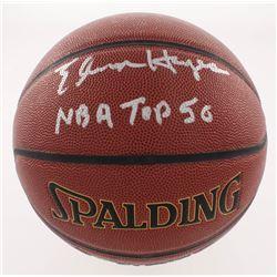"Elvin Hayes Signed NBA Basketball Inscribed ""NBA Top 50"" (Schwartz COA)"