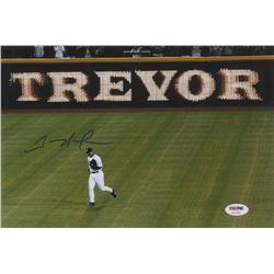 Trevor Hoffman Signed San Diego Padres 8x12 Photo (PSA Hologram)