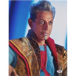 "Jeff Goldblum Signed ""Thor: Ragnarok"" 11x14 Photo (PSA Hologram)"