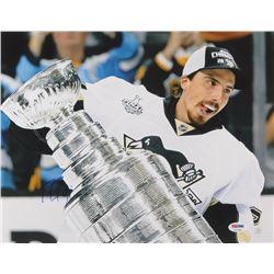 Marc Andre Fleury Signed Pittsburgh Penguins 11x14 Photo (PSA Hologram)
