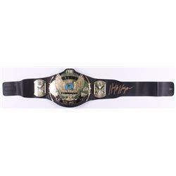 Hulk Hogan Signed WWE World Heavyweight Wrestling Championship Belt (Schwartz COA)