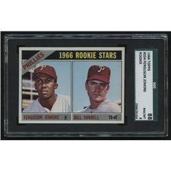 1966 Topps #254 Rookie Stars / Fergie Jenkins RC / Bill Sorrell RC (SGC 8)