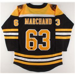 Brad Marchand Signed 2019 Stanley Cup Finals Boston Bruins Jersey (Marchand COA)