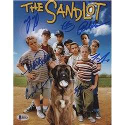 """""""The Sandlot"""" 8x10 Photo Signed by (7) with Tom Guiry, Patrick Renna, Chauncey Leopardi, Victor Di M"""