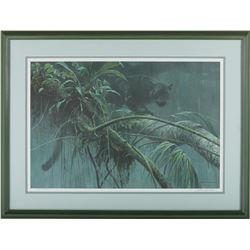 "Robert Bateman's ""Shadow of the Rainforest"" LE Print"