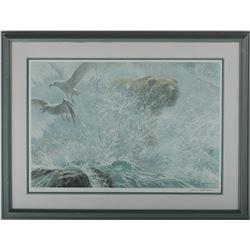 "Robert Bateman's ""Endangered Spaces - Grizzly"" LE Print"