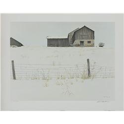 """Robert Bateman's """"Centennial Farm"""" L.E. Print"""