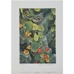 "Robert Bateman's ""Summer Morning Pasture"" L.E. Print"