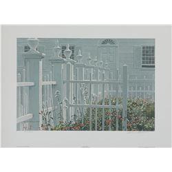 """Robert Bateman's """"Colonial Garden"""" L.E. Print"""