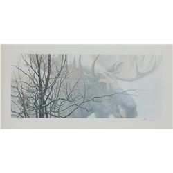 "Johhn Seerey-Lester's ""Moose Hair"" L.E. Print"