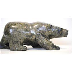 "Joannie Ragge's ""Bear"" Original Inuit Carving"