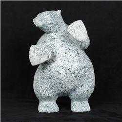 "Limeonie Killiktee's ""Bear"" Original Inuit Carving"