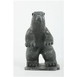 "Putuguk Ashevak's ""Bear Standing"" Original Sculpture"