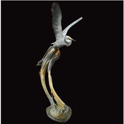 "Ron Chapel's ""Cathedral Springs"" L.E. Bronze Sculpture"