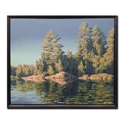 "E. Robert Ross's ""Pines, Canisbay Lake"" Original"