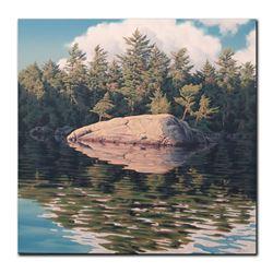 """E. Robert Ross's """"Rock Lake"""" Original"""
