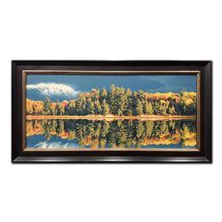 """E. Robert Ross's """"Rutter Lake"""" Original"""