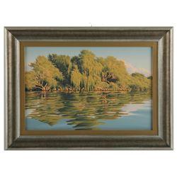 """E. Robert Ross's """"Willows Princess Point"""" Original"""