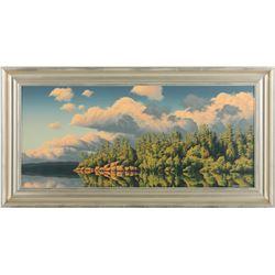 "E. Robert Ross's ""Smoothwater Lake"" Original"