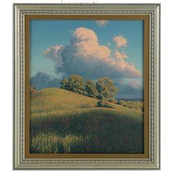 """E. Robert Ross's """"Hills, Dundas Valley"""" Original"""