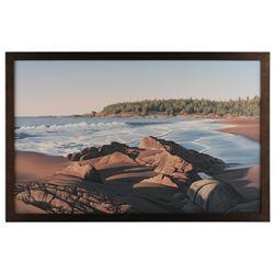 """E. Robert Ross's """"Nova Scotia Beach"""" Original"""