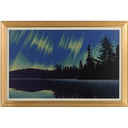 "E. Robert Ross's ""Aurora Borealis"" Original"