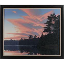 "E. Robert Ross's ""Sunset, Killarney Park"" Original"