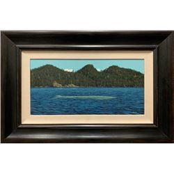 E. Robert Ross Original Acrylic Painting