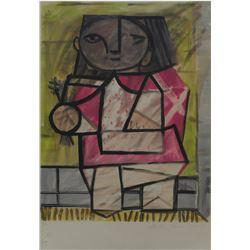 """Pablo Picasso's """"Enfant et Pied"""" Lithograph"""