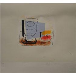 """Pablo Picasso's """"Nature Morte Au Verre"""" Lithograph"""