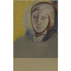 """Pablo Picasso's """"Portrait of Marie-Therese"""" Lithograph"""