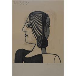 """Pablo Picasso's """"Tete"""" Lithograph"""