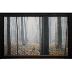 "Robert Bateman's ""Hardwood Forest- White-Tailed Buck"""