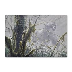 "Robert Bateman's ""Intrusion- Mountain Gorilla"" LE Canva"