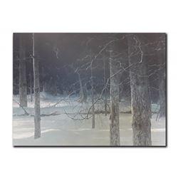 "Robert Bateman's ""Midnight- Black Wolf"" LE Print"