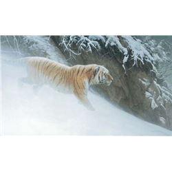 "Robert Bateman's ""Momentum - Siberian Tiger"" LE Canvas"
