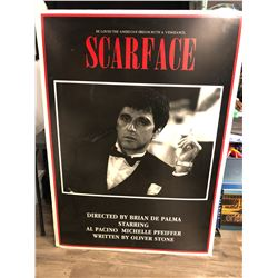 COLLECTIBLE SCARFACE FOAM BOARD POSTER (44 X 60)