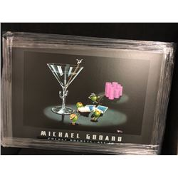 Michael Godard's Pocket Rockets (All In)  28 x 34