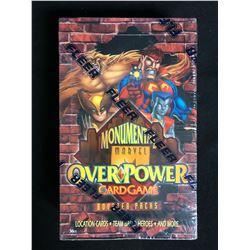 FLEER MONUMENTAL MARVEL OVERPOWER CARD GAME BOOSTER PACKS (SEALED)