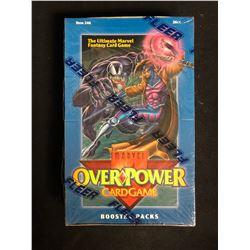 FLEER MARVEL OVERPOWER CARD GAME BOOSTER PACKS (SEALED)