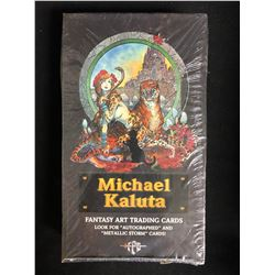 MICHAEL KALUTA FANTASY ART TRADING CARDS (SEALED BOX)