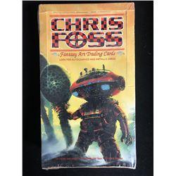 CHRIS FOSS FANTASY ART TRADING CARDS (SEALED BOX)