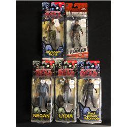 McFarlane Toys The Walking Dead Action Figure Lot