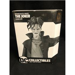 "DC COLLECTIBLES BATMAN BLACK & WHITE ""THE JOKER"" RESIN STATUE BY GERARD WAY"
