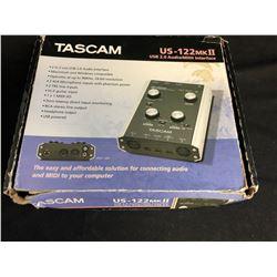 TASCAM US-122 MK II USB 2.0 AUDIO/ MIDI INTERFACE