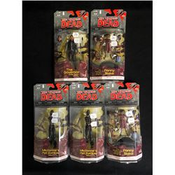 THE WALKING DEAD ACTION FIGURES LOT (McFARLANE'S TOYS)