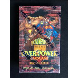 MONUMENTAL MARVEL OVERPOWER CARD GAME BOOSTER PACKS (SEALED)