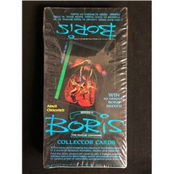 BORIS SERIES II THE FANTASY CONTINUES COLLECTOR CARDS (SEALED BOX)